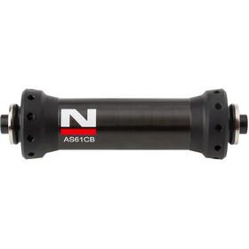 Novatec Ultralight Front Wheel Hub Racing bike Carbon black